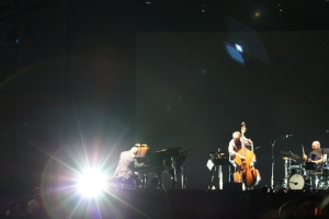 The Bad Plus during 'On Sacred Ground'