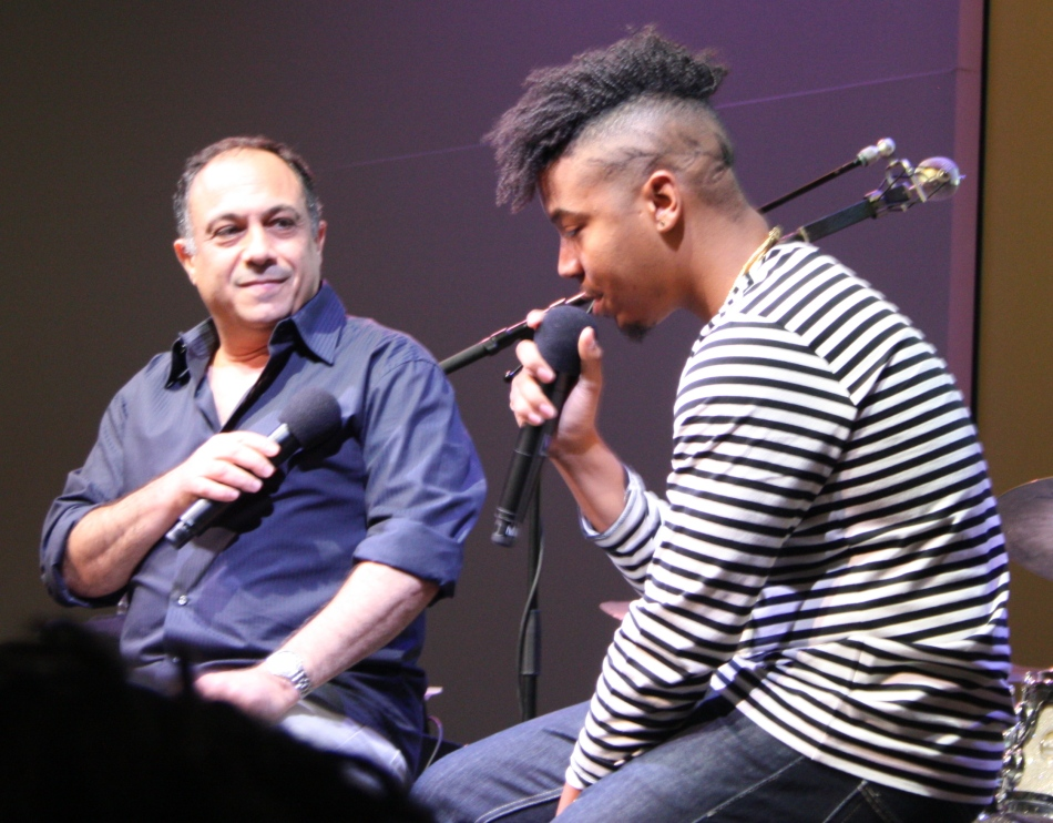 Christian Scott aTunde Adjuah in conversation with Ashley Kahn